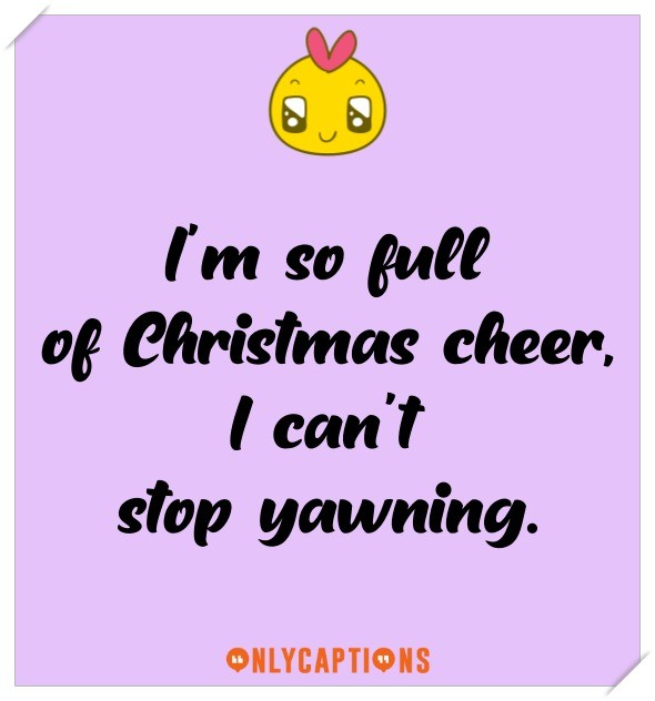 Funny Christmas Captions For Instagram (2021)