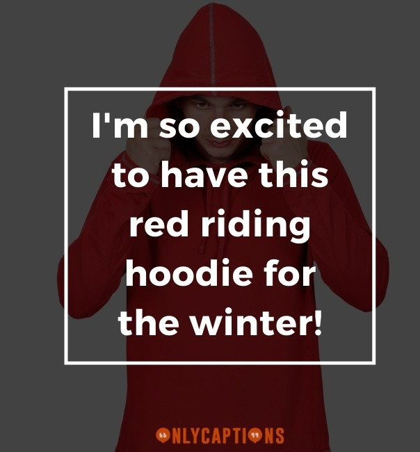 Red Riding Hood Captions For Instagram (2021)