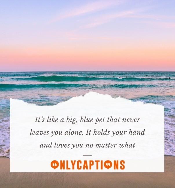 Beach Aesthetic Captions for Instagram 2021