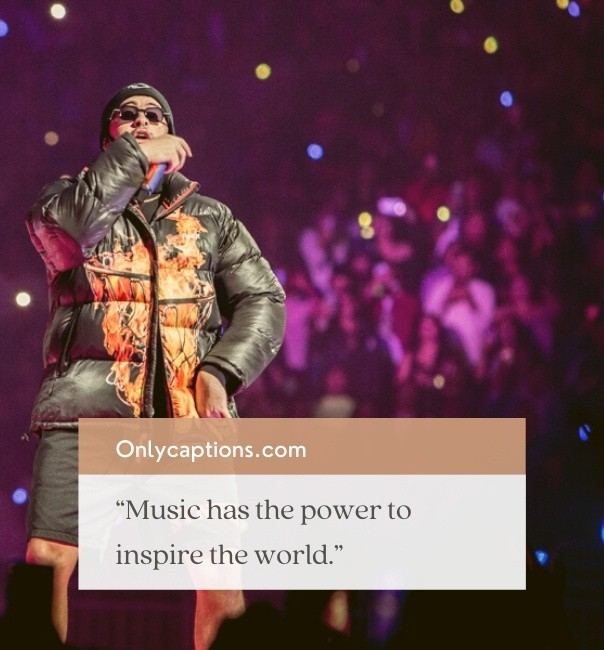 Famous Bad Bunny Captions For Instagram 2021