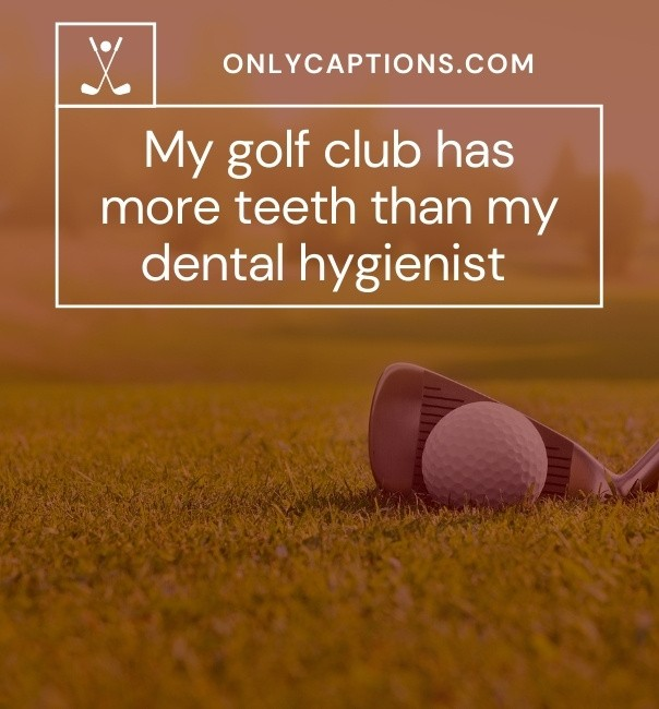 Funny Golf Captions For Instagram 2021