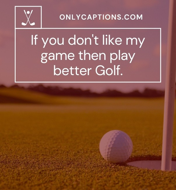 Golf Puns Captions For Instagram 2021