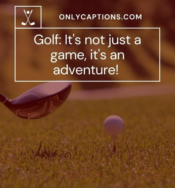 Top Golf Captions For Instagram 2021