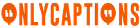 OnlyCaptions Logo